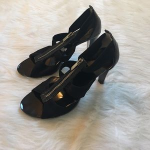 Michael Kors black heels.